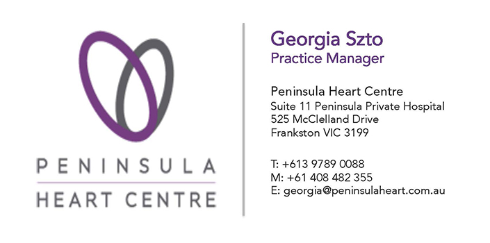 Peninsula Heart Centre Logo
